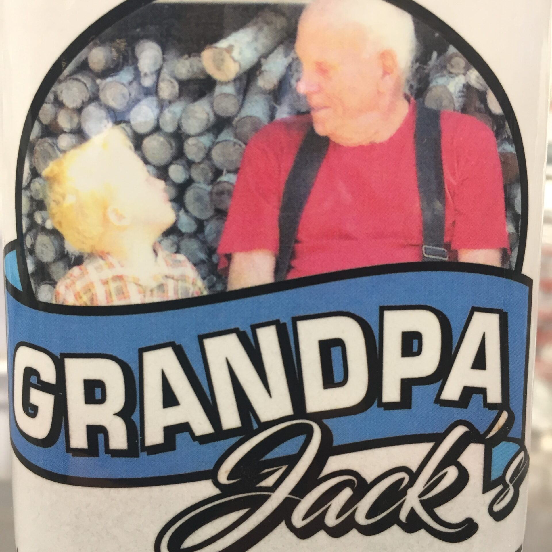 Grandpa jacks cranberry concentrate logo